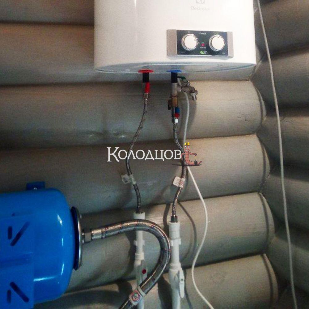 Наши работы: Водоснабжение загородного дома, СНТ Корвет, апрель 2021