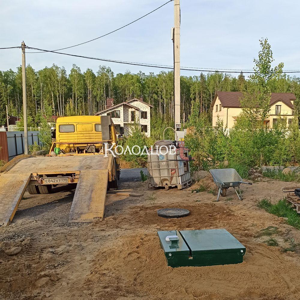 Наши работы: Биодевайс 5, Агалатово, июнь 2021