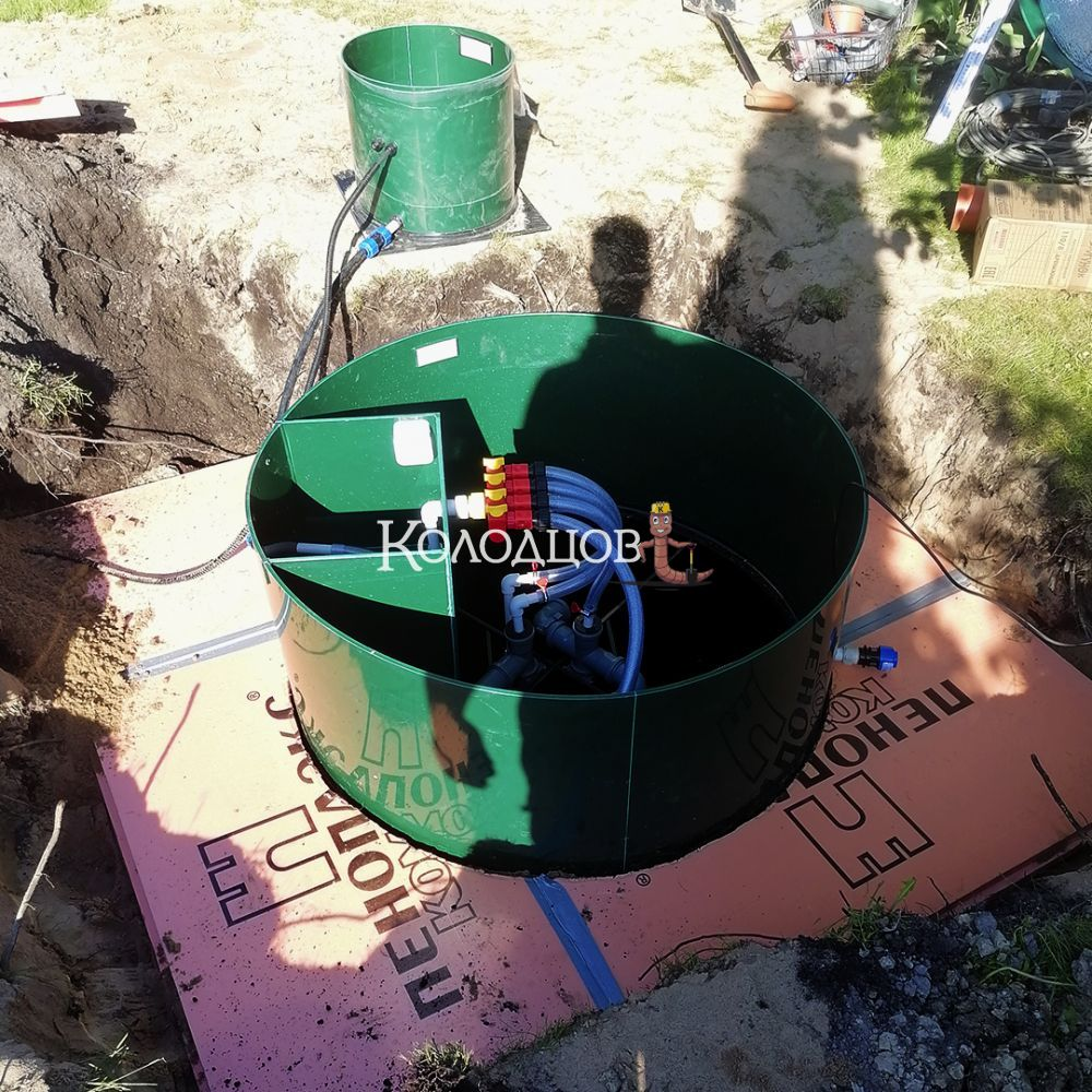 Наши работы: Евролос ПРО 6 плюс, сад-во Озерки (Поркузи), июнь 2021