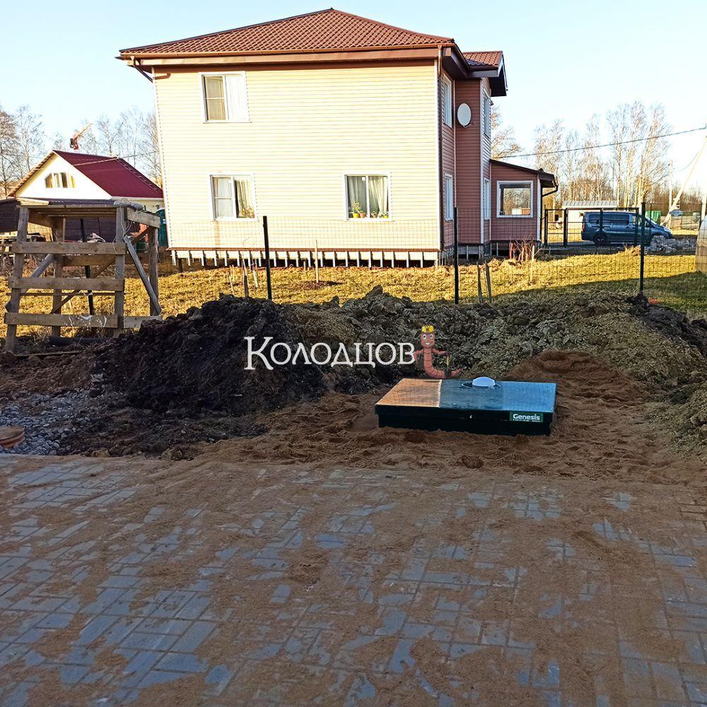 Наши работы: Генезис 500, Фёдоровское, апрель 2021