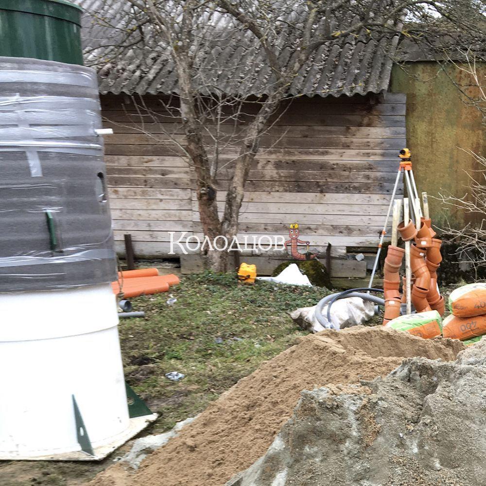 Наши работы: Оптима 4, СНТ Заря (Синявино), апрель 2021