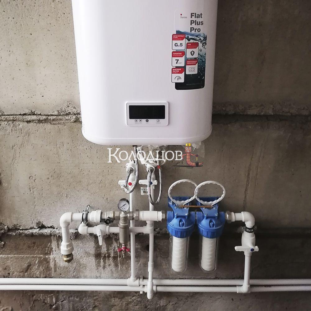 Наши работы: Водоснабжение дома, Новая Ладога, июнь 2021